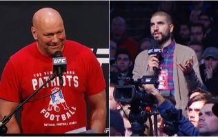 Ariel Helwani asks if Conor McGregor has been stripped of his title, gets bizarre response