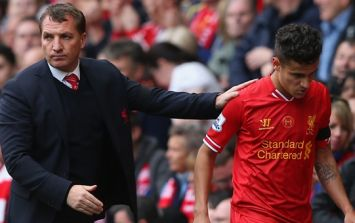 Philippe Coutinho got in touch with Brendan Rodgers after sealing Barcelona move