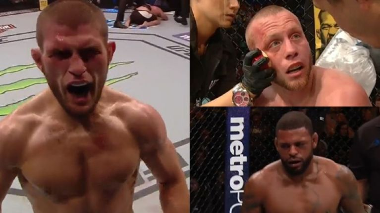 How every Khabib Nurmagomedov opponent reacted after every round proves the nightmare is very real