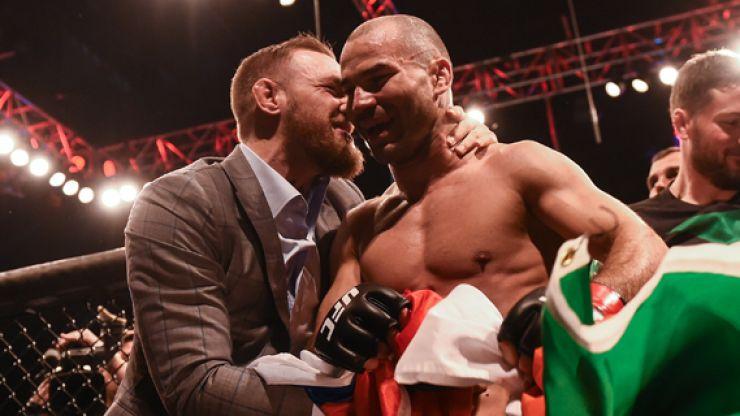 Tyron Woodley pays Conor McGregor huge compliment after taking harsh swipe at Artem Lobov