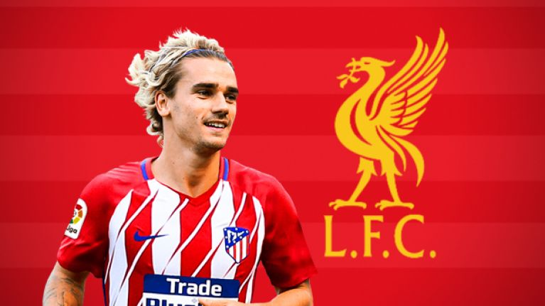 Principled Liverpool fans are annoyed about growing Antoine Griezmann rumours