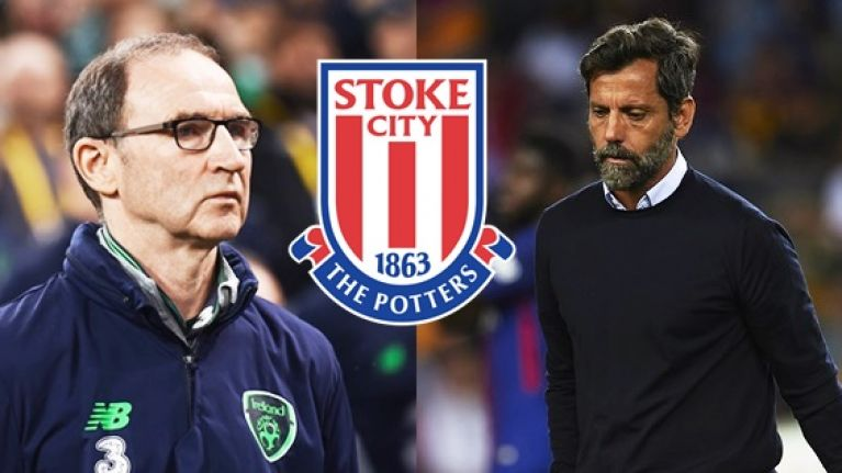 Martin O'Neill set to miss out on Stoke job to Sanchez Flores
