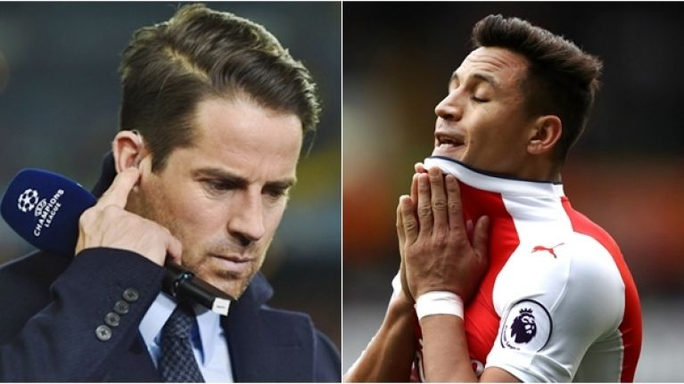 Jamie Redknapp shares odd reason why Arsenal should not let Alexis Sanchez join Manchester United
