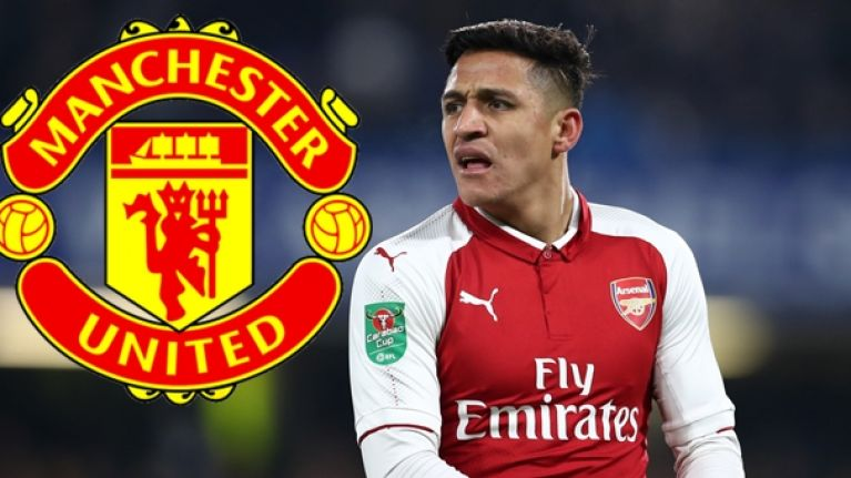 No comment from Arsenal or Manchester United on Alexis Sanchez missed drugs test