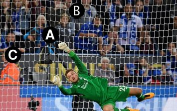 You'll be doing extremely well to get top marks in this spot the ball quiz