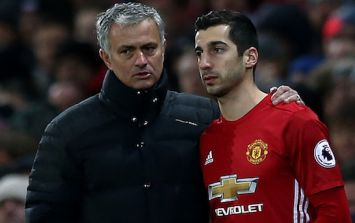 Henrikh Mkhitaryan had a problem with Jose Mourinho and the defensive demands are slammed