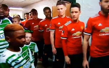 Jose Mourinho and Manchester United's subs were pure class with Yeovil's mascots