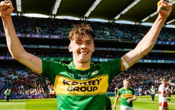 Kerry fans can hardly contain themselves as David Clifford starts against Donegal