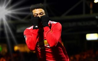 Jesse Lingard didn't disappoint a young pitch-invader after Manchester United's win