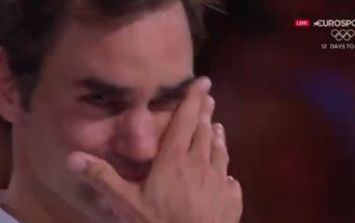 Roger Federer brought everyone to tears with his victory speech following record Grand Slam