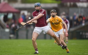 Antrim give Galway the fright of their lives in Pearse Stadium