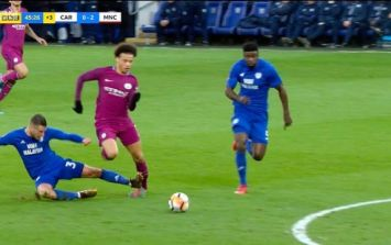 Germany FA with message for Cardiff City after horror tackle on Leroy Sané