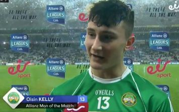 Rising Offaly star's feet are firmly on the ground and that's what they'll need