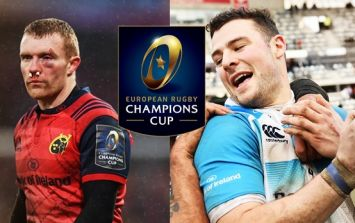 Leinster and Munster's Champions Cup quarter final opponents confirmed