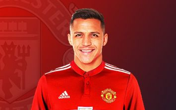 Leaked image shows Alexis Sanchez in his Manchester United kit