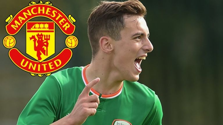 Waterford and Manchester United starlet Lee O'Connor has the talent and temperament to go all the way