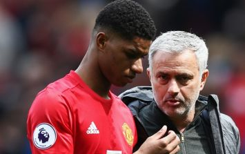 Jose Mourinho jokingly calls himself 'the monster that kills little kids' after question about Marcus Rashford's future
