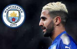 Manchester City have submitted their final bid for Riyad Mahrez