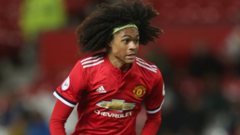 Manchester United's latest prodigy, Tahith Chong, may have Fellaini's hair but he plays like a young Lionel Messi