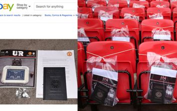 Manchester United fans unhappy after Munich Air Disaster mementos appear on eBay