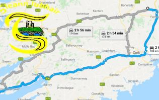 Crazy journey for club league game in Cork must surely be the longest in the country