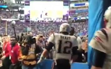 'Let's go baby, let's go' - Hall of Famer Randy Moss pumps up Tom Brady
