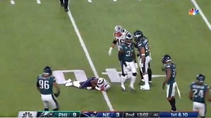 Watch: Malcolm Jenkins obliterates Brandin Cooks with vicious hit