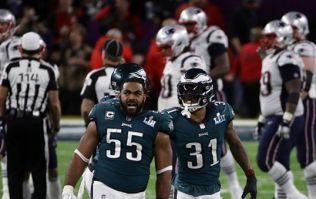 Eagles defensive line wins Super Bowl after nearly four quarters of silence