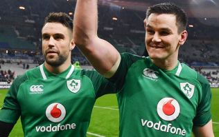 Conor Murray's take on Johnny Sexton's drop goal celebrations is just class