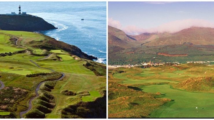 The 11 most scenic golf courses in Ireland