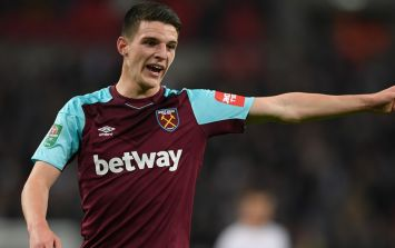 Eamon Dunphy questions Declan Rice's attitude and says he should get off Twitter