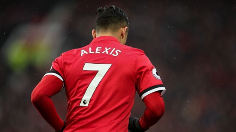 best loved b061e 167b7 Alexis Sanchez smashes Manchester United jersey sales record ...