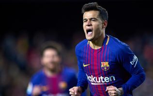 Watch: Philippe Coutinho scores first goal for Barcelona after superb cross from Luis Suarez