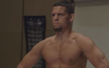 Nate Diaz typically unbothered by Conor McGregor's antics