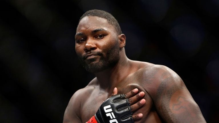 ripped physique strengthens rumours of anthony johnson pursuing