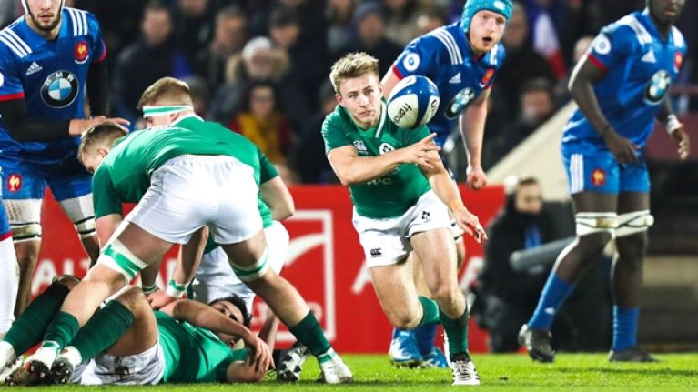 Tommy O'Brien pure class but Ireland U20s fall agonisingly short