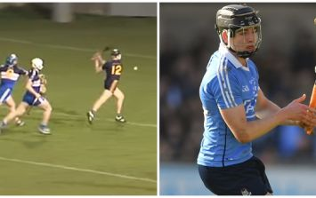 DCU's Donal Burke sets the tone for emphatic Fitzgibbon triumph with this blistering second-minute strike