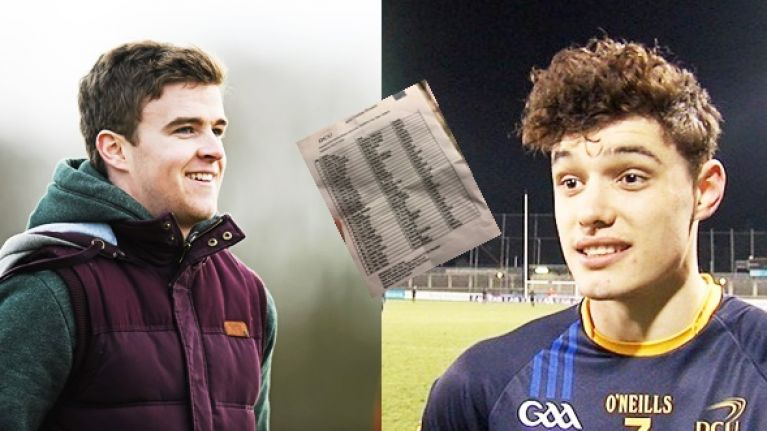 Six mouthwatering marking duels set for Fitzgibbon Cup final