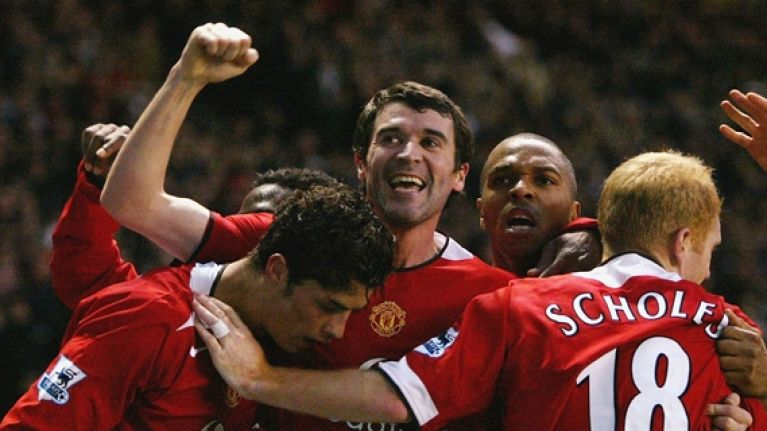 Can you name the first clubs these players went to after Manchester United?