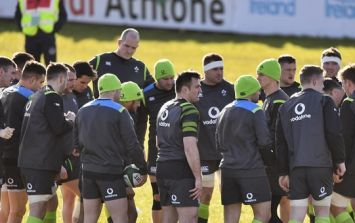 Jordan Larmour the notable absentee as Ireland train hard in Athlone