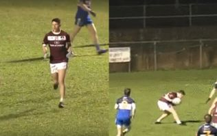 NUIG's Westmeath star O'Toole must have the best sidestep in the GAA