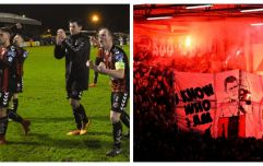 The Flares and the Fury: my first taste of a Bohs Rovers game was definitely a night to remember