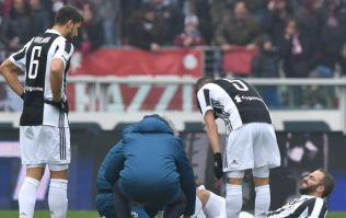Juventus suffer double injury blow before Champions League clash with Spurs