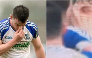 TV footage appears to show why Barry Kerr may have been red carded