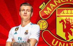 Manchester United in for Toni Kroos this summer