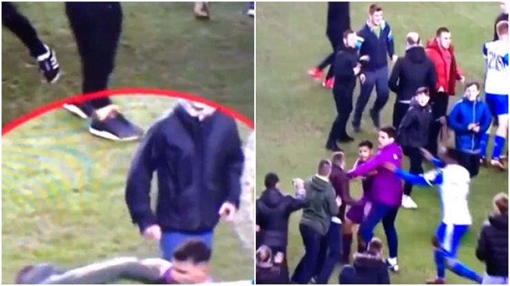 Sergio Aguero clashes with Wigan fan after FA Cup loss