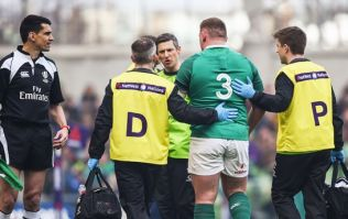 The whole of Ireland worry as Tadhg Furlong limps off early