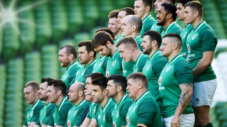 The Ireland team that should start against Wales