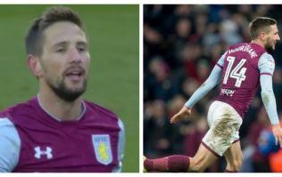 Conor Hourihane scores a bloody screamer as Aston Villa beat Birmingham to go second in the Championship