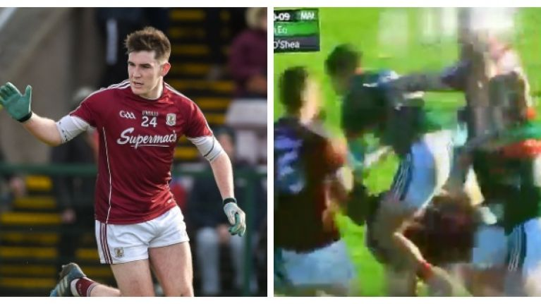All hell breaks loose in Salthill as Galway lord it over Mayo again